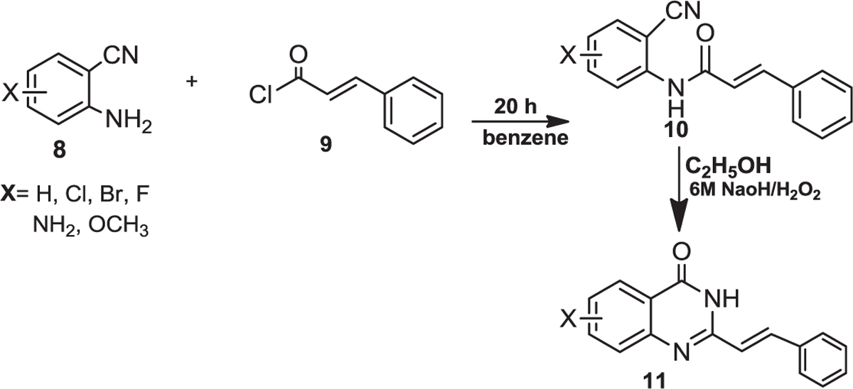 Figure 5 Preparation Of 2 Styryl 43iH